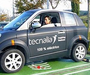 tecnalia vahiculo electrico ahorro combustible