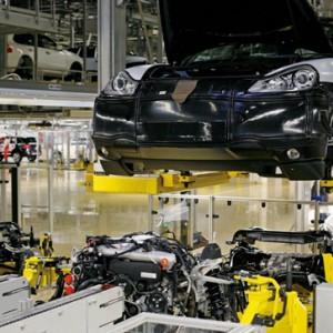 produccion de coches fabrica