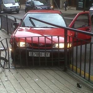 accidente de coche golpe chapa reparar taller