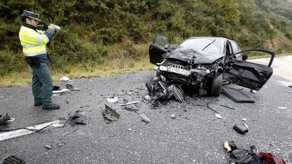 Miles de kilómetros de carreteras españolas tienen riesgo accidentes