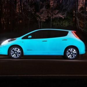 El primer coche que brilla en la oscuridad, de la mano de Nissan