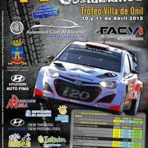 Gestirep con el 41 Rallye Costablanca Trofeo Villa de Onil