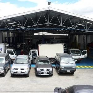 Visita vehículos al taller